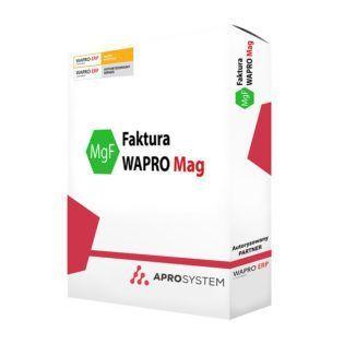 Wapro Faktura- Wzór wydruku dokumentu z drukowanym kodem kreskowym dodatek do warpo mag