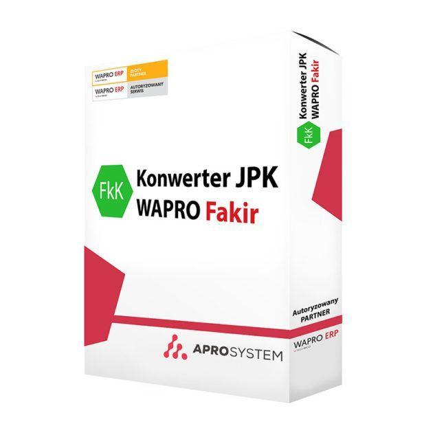 Konwerter JPK dodatek do Asseco WAPRO FaKiR