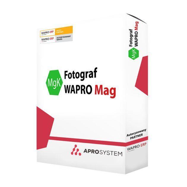 Fotograf - kontrola magazynu WF-Mag dodatek do asseco wf mag