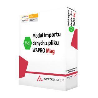 Moduł importu danych z pliku dodatek do wapro mag