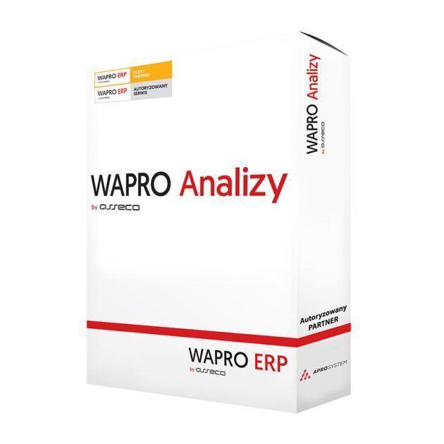 Oprogramowanie Asseco WAPRO Analizy