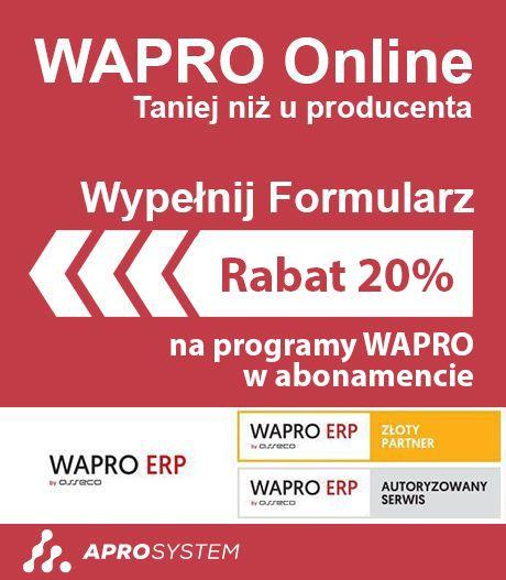 wapro online promocja